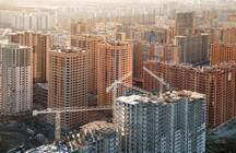 Обильный ноябрь и одна новостройка-полуостров с квартирами-гигантами