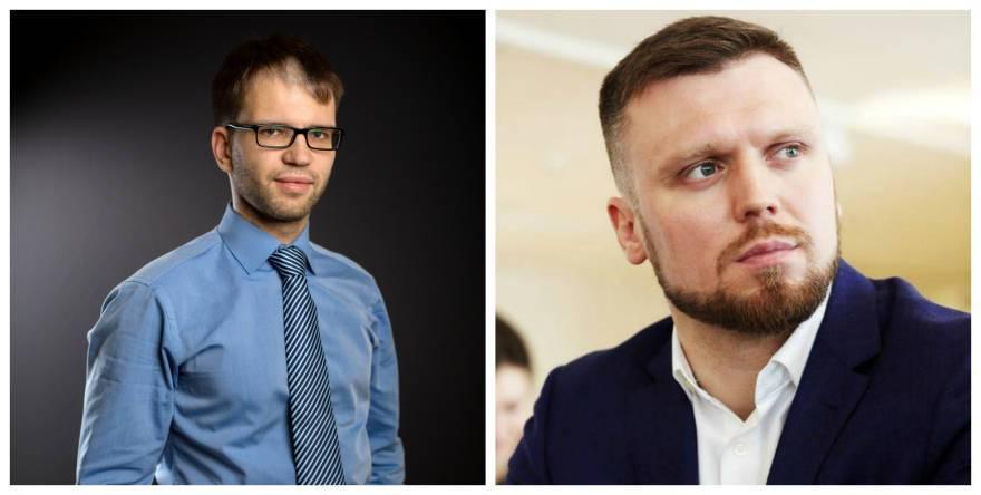 Коммерческий директор «ФСК Лидер» Григорий Алтухов и руководитель ипотечного центра «ФСК Лидер» Павел Тимошенко