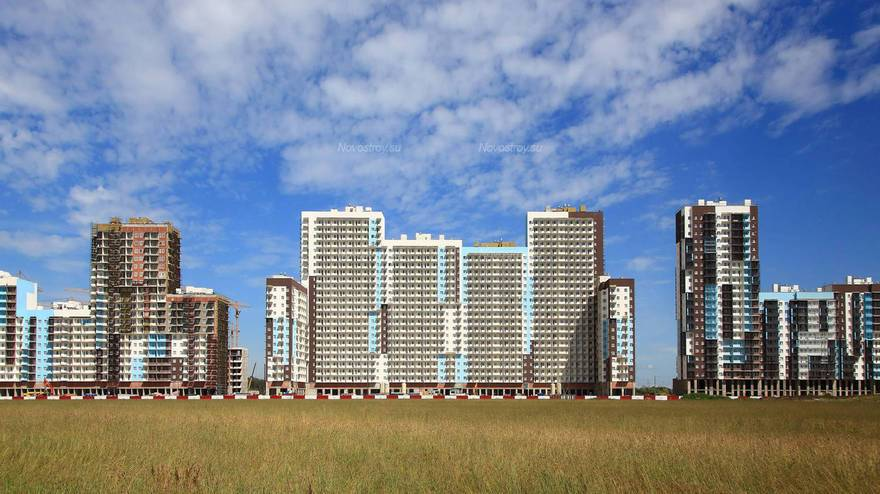 Июль: жилье продолжают строить
