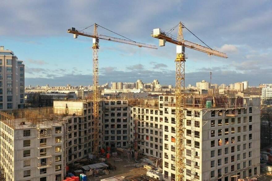 Новостройка в Санкт-Петербурге