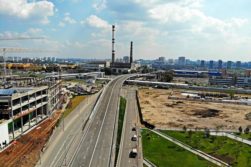 Строительство в промзоне Москвы