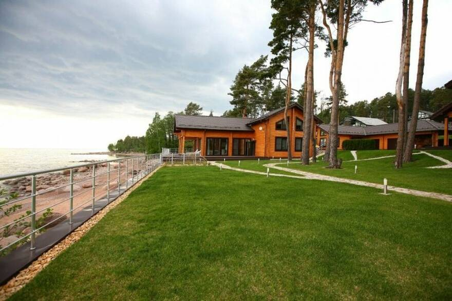 Коттедж на берегу Финского залива