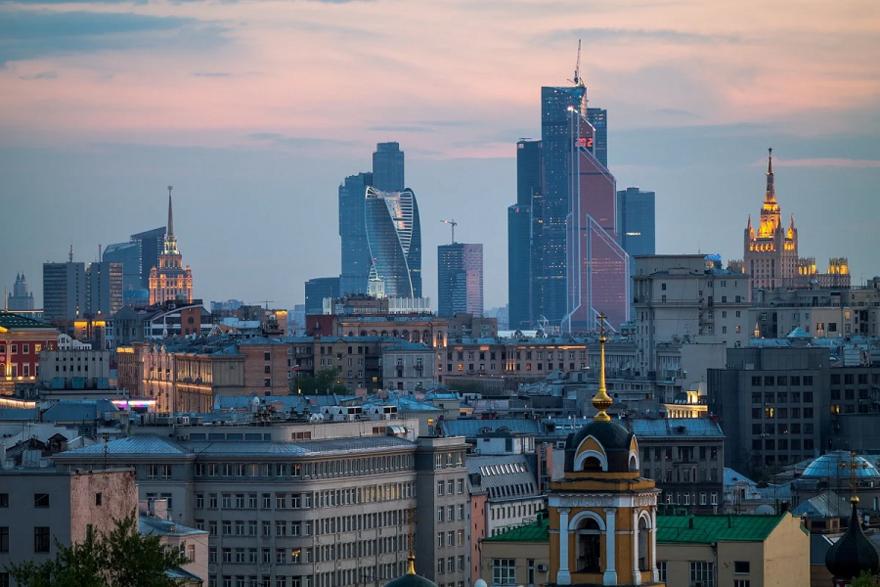 Жилые дома и офисы в Центральном административном округе Москвы