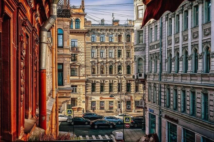 Дома в центре Санкт-Петербурга
