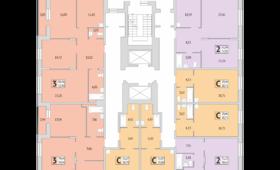 Дом №279/4, планировки 2 этажа