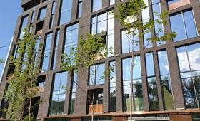 МФК «Loftec»: фасад готового объекта