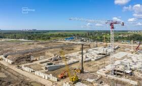 Продолжаются работы по планировке территории проекта организации строительства.