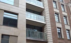 Остекление окон и балконов ЖК «Barkli Virgin House» (11.11.12)