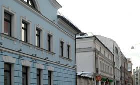 Улица вдоль жилого комплекса «Чистые Пруды» (30.11.12)