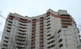 Фасад жилого комплекса на пр. Юрия Гагарина (26.02.2013)