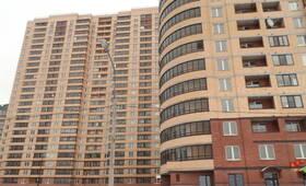 Фасад жилого комплекса «Северная Регата» (20.02.2013)