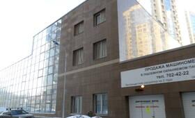 Фасад жилого комплекса «Шуваловские высоты» (21.02.2013)