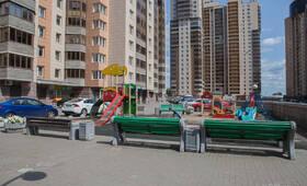 Детская площадка ЖК «Золотая гавань» (23.07.2013 г.)