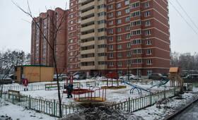 ЖК «Гагаринский»: детская площадка, 05.03.2015