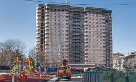 ЖК «Маяковский»: Строящийся корпус, 10.03.2015 г.