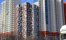 ЖК «LIfe-Митинская»: 10.03.2015 - Фрагмент корпуса