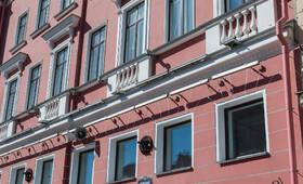 МФК «Невский, 68»: фасад здания (08.06.2015)