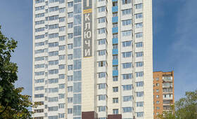 ЖК «Альтаир»: 28.08.2015 Фасад со стороны МКАД