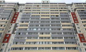 ЖК «в посёлке Тельмана» (мкр. 5): фасад 1-го корпуса.