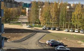 ЖК «Дом в Новом Девяткино» (ПромСервис): придомовая территория