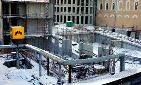 МФК «Царев сад»: Ход строительства
