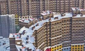 ЖК «Дом-Солнце»: скриншот с аэросъемки