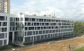 ЖК «Левобережный»: ход строительства паркинга Г4