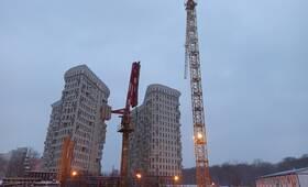 ЖК «Лефорт»: ход строительства корпуса №3