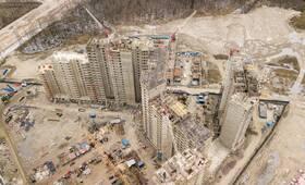 ЖК «Полис на Комендантском»: ход строительства дома №4