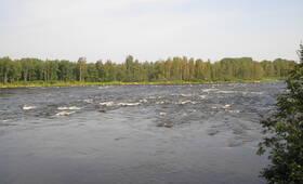 КП «У реки Бурная»: вид посёлка