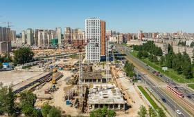 ЖК «Дальневосточный 15»: ход строительства блока №2