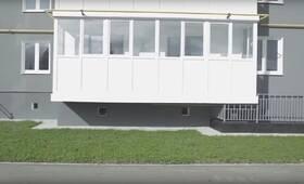 ЖК «Белый сад»: скриншот с видеообзора