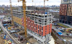 ЖК «Волжский парк»: ход строительства корпуса №1