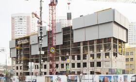 МФК «Солнцево парк»: ход строительства корпуса №39А