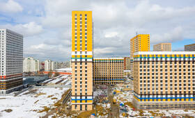 ЖК «Жулебино парк»: ход строительства корпуса №4.1
