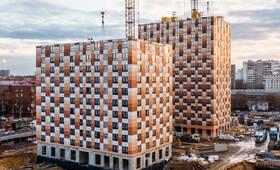 ЖК «Большая Академическая 85»: ход строительства корпуса №1.2