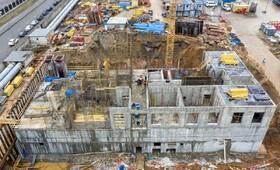 ЖК «Амурский парк»: ход строительства корпуса №3.3