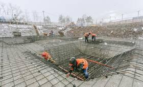 ЖК «Заречье Парк»: ход строительства корпуса №1