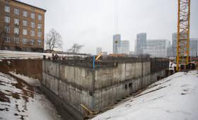 ЖК «Второй Нагатинский»: ход строительства корпуса №1