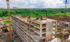 ЖК «Микрогород «В лесу»: ход строительства корпуса №25