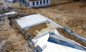 ЖК «Западный порт»: ход строительства детского сада