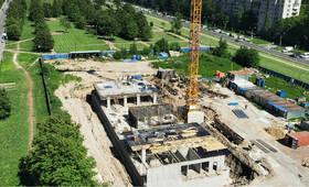 Апарт-отель «WINGS апартаменты на Крыленко»: ход строительства