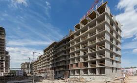 ЖК «Юнтолово»: ход строительства корпуса №12