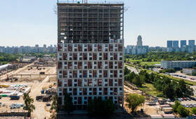 ЖК «Бусиновский парк»: ход строительства корпуса №1.2