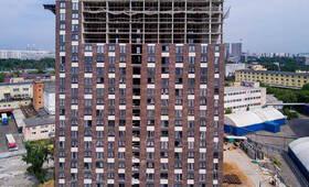 ЖК «Руставели 14»: ход строительства