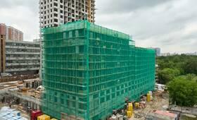 ЖК «TopHILLS»: ход строительства корпуса №6