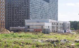 ЖК «Мякинино парк»: ход строительства детского сада