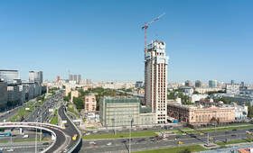 МФК «Alcon Tower»: ход строительства