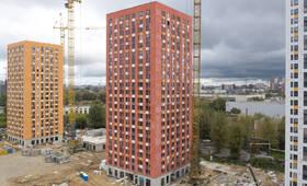 ЖК «Волжский парк»: ход строительства корпуса №2.1