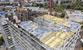 ЖК «Новохохловская 15»: ход строительства корпуса №1